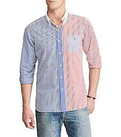 Polo Ralph Lauren® Men's Long Sleeve Striped Button Down Shirt