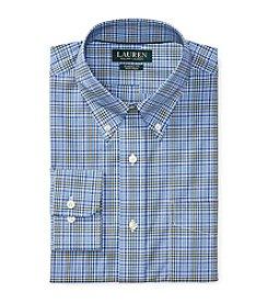 Lauren Ralph Lauren® Classic Fit Plaid Poplin Dress Shirt