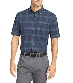 Van Heusen® Flex Non Iron Stretch Windowpane Button Down Collar Shirt
