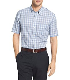 Van Heusen® Flex Stretch Plaid Button Down Collar Shirt