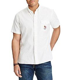 Polo Ralph Lauren® Men's Big & Tall Short Sleeve Button Down Shirt