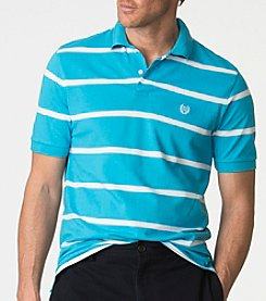 Chaps® Men's Big & Tall Men's Striped Pique Polo Shirts