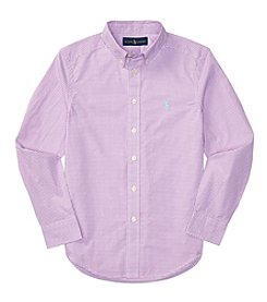 Polo Ralph Lauren® Boys' 8-20 Long Sleeve Buttondown Shirt