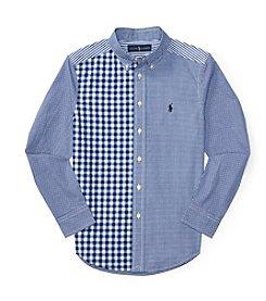 Polo Ralph Lauren® Boys' 8-20 Long Sleeve Buttondown Shirt