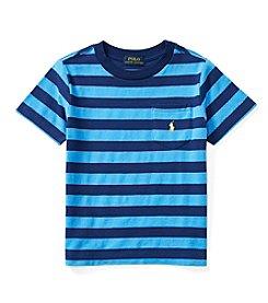 Polo Ralph Lauren® Boys' 2-7 Striped Pocket Tee