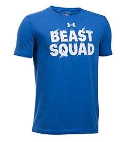 Under Armour® Boys' 8-20 Beast Squad Tee