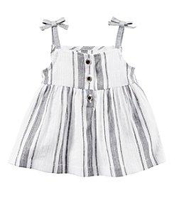 Carter's® Baby Girls' Striped Tie Tank