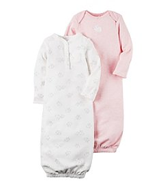 Carter's® Baby Girls' 2-Pack Bunny Gowns