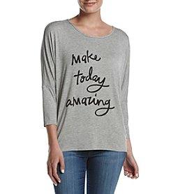 Bobeau® Make Today Amazing Tee