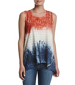 Oneworld® Americana Lace Trim Tank
