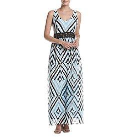 Taylor Dresses Printed Maxi Dress