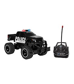 World Tech Toys Licensed 1:14 Ford F150 SVT Raptor Police RC Truck