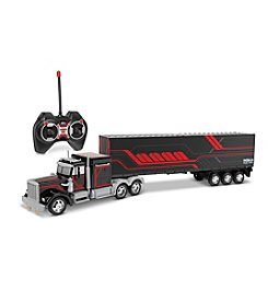 World Tech Toys Semi Truck with Back Container