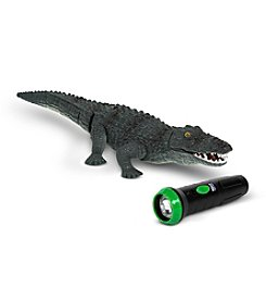 World Tech Toys RC Creatures Remote Control Infrared Crocodile