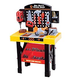 World Tech Toys Big Boy's Work Shop 54-Piece Tool Bench Set