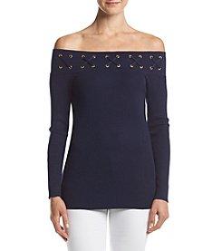 MICHAEL Michael Kors Off-Shoulder Sweater