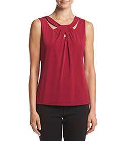 Nine West® Asymmetric Knit Top