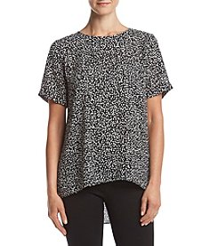 Vince Camuto® Speckled Pop Blouse