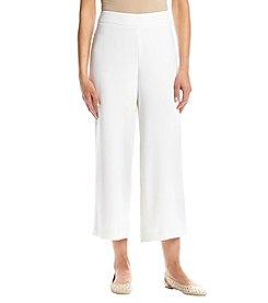 Joan Vass® Soft Cropped Pants
