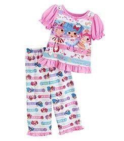 Komar Kids® Baby Girls' 12-24 Month 2 Piece Lalaloopsy Pajama Set