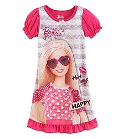 Komar Kids® Baby Girls' 12-24 Month Baby Girls Barbie Think Happy Nightgown