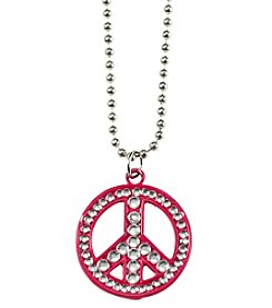 Riviera® Peace Sign Necklace