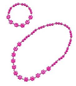 Riviera® Bead Necklace And Bracelet Set