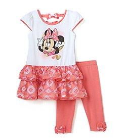 Disney Girls' 2T-6X Minnie Mouse Legging Set
