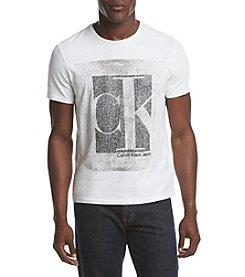 Calvin Klein Jeans® Men's Crackled Crewneck Tee