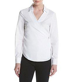 Ivanka Trump® Front Tie Blouse