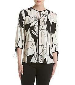 Ivanka Trump® Abstract Blouse
