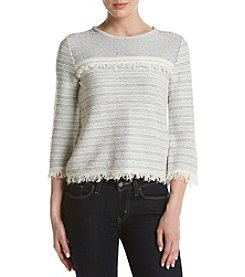 Ivanka Trump® Striped Sweater