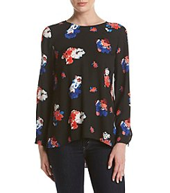 Vince Camuto® Floral Bloom Blouse