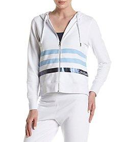 Calvin Klein Performance Metallic Striped Hooded Jacket