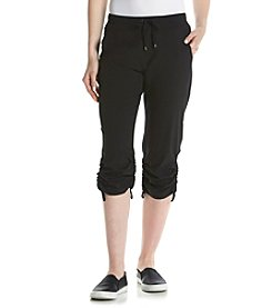 Marc New York Performance Tie Front Woven Pants