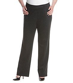 Nine West® Plus Size Flared Leg Pants