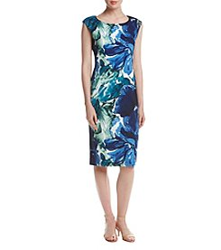 Connected® Floral Printed Sheath Dress