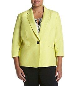 Kasper® Linen Button Jacket