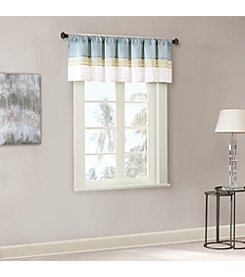 Madison Park Carter Polyester Pintuck Window Valance