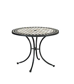 Home Styles® Marble Top Round Outdoor Dining Table