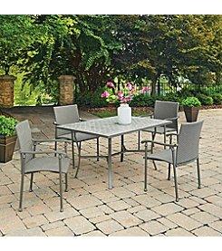 Home Styles® Umbria Concrete Tile Rectangular Outdoor Table