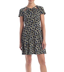 MICHAEL Michael Kors® Petites' Floral Printed Dress