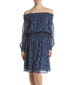 MICHAEL Michael Kors® Petites' Arbor Smocked Dress