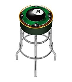 Trademark Gameroom Rack'em 8-Ball Padded Bar Stool