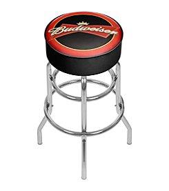 Budweiser® Bowtie Red/Black Bar Stool