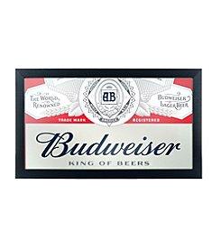 Budweiser® Framed Logo Mirror