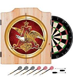 Anheuser-Busch Eagle Dart Cabinet Set