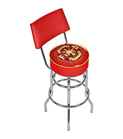 Trademark Gameroom Fire Fighter Padded Bar Stool with Back