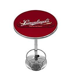 Leinenkugel's® Pub Table with Chrome Base