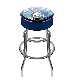Trademark Gameroom US Navy Padded Bar Stool